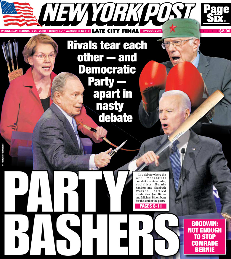 'Party Bashers' - New York Post